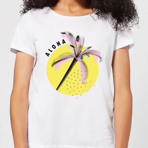 Aloha Women's T-Shirt - White