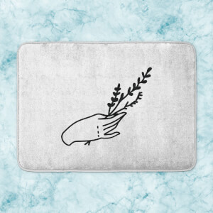 Hand And Herb Bath Mat