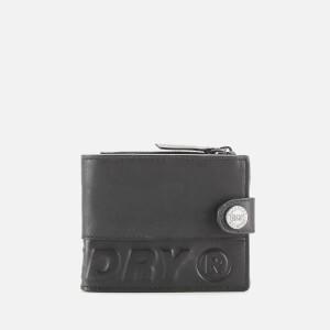 Superdry Men's Profile Leather Wallet - Black
