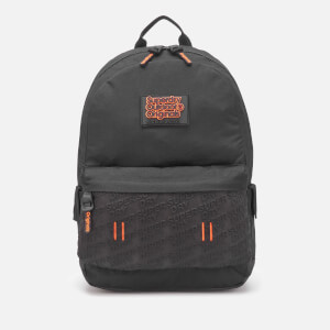 Superdry Men's Neoprene Emboss Panel Montana Backpack - Black