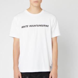 White Mountaineering Men's Printed T-Shirt White Mountaineering B - White