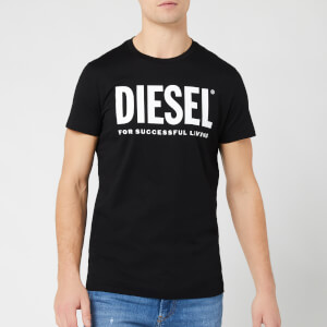 Diesel Men's Diego Diesel Logo T-Shirt - Black