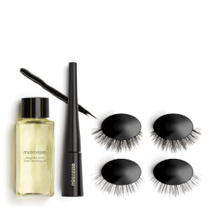 mirenesse Magnomatic Magnetic Eyeliner and Eyelashes Day and Night Kit - Volume Vivian