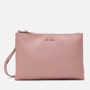 Ted Baker Women's Danii Bar Detail Cross Body Bag - Dusky-Pink