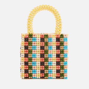 Shrimps Women's Hector Check Pearl Handbag - Multi Check