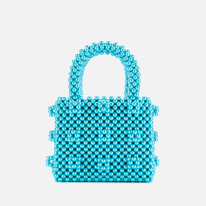 Shrimps Women's Mini Antonia Pearl Handbag - Turquoise