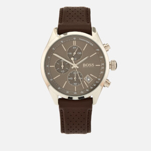 BOSS Hugo Boss Men's Grand Prix Chrono Watch - Rouge Green