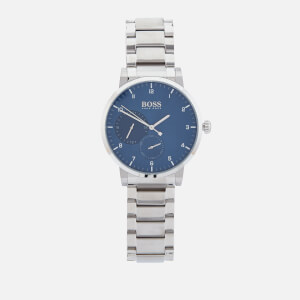 BOSS Hugo Boss Men's Oxygen Metal Strap Watch - Rouge Blue