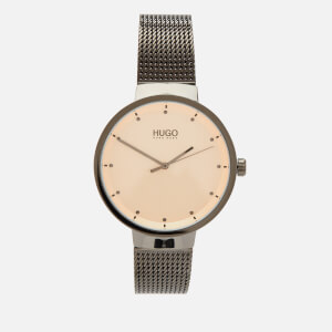 HUGO Women's Go Mesh Strap Watch - Rou Cargo MB