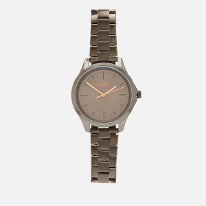 HUGO Women's Fearless Metal Strap Watch - Grey