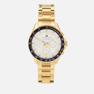 Tommy Hilfiger Men's Luke Metal Strap Watch - Rou SIWHI