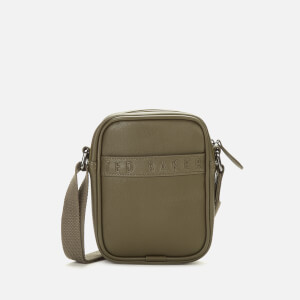 Ted Baker Men's Bandz Debossed Mini Flight Bag - Olive