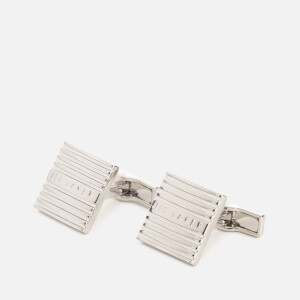 Ted Baker Men's Worth Textured Cufflinks - Silver-Col