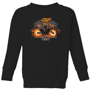 Marvel Ghost Rider Hell Cycle Club Kids' Sweatshirt - Black