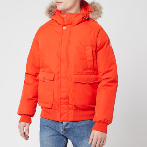 Pyrenex Men's Mistral Fur Jacket - Tangerine