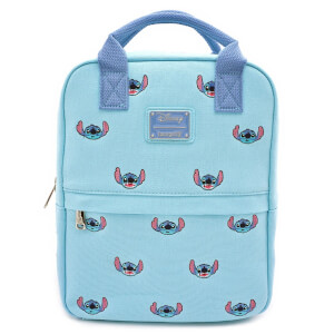 Loungefly Disney Stitch Canvas Embroidered Backpack