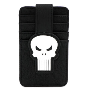Loungefly Marvel Punisher Skull Card Holder