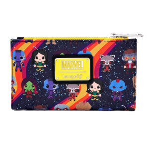Loungefly Marvel Guardians Chibi Aop Wallet