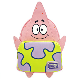 Loungefly Spongebob Squarepants Patrick 20th Anniversary Mini Backpack