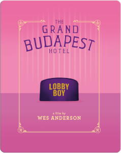 The Grand Budapest Hotel - Zavvi UK Exclusive Steelbook