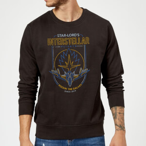 Marvel Guardians Of The Galaxy Interstellar Flights Sweatshirt - Black