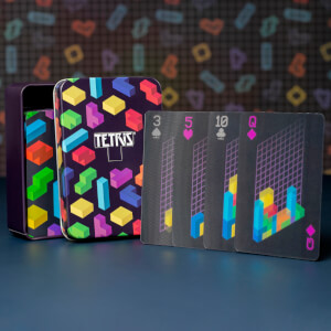 Tetris Lenticular Playing Cards