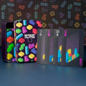 Cartes à jouer lenticulaires– Tetris