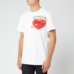Helmut Lang Men's Pz Valentine T-Shirt - Chalk White
