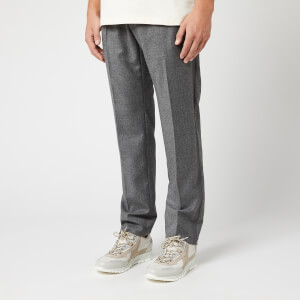 Helmut Lang Men's Logo Band Pull on Pants - Beuys Grey