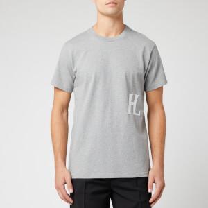Helmut Lang Men's Hl Logo T-Shirt - Precision Heather