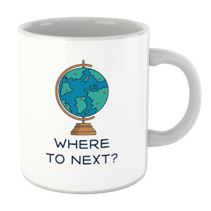 Globe Where To Next? Mug