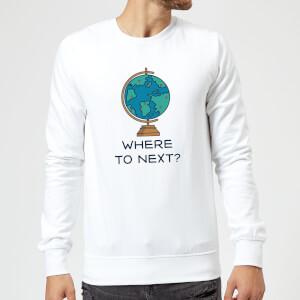 Globe Where To Next? Sweatshirt - White