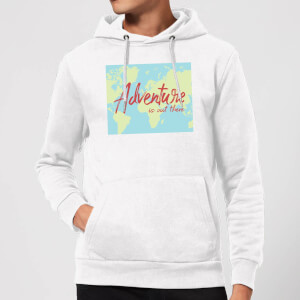 Adventure Is Out There Hoodie - White