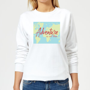 Adventure Is Out There Women's Sweatshirt - White