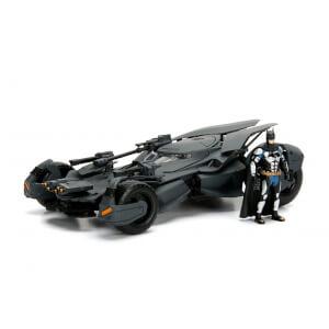 Modellino pressofuso 1:24 della Batmobile della Justice League con personaggio - Jada