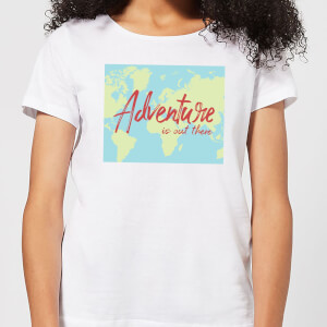 Adventure Is Out There Women's T-Shirt - White