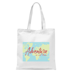 Adventure Is Out There Tote Bag - White
