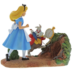 Enchanting Disney Collection - Mr Rabbit, Wait! (Alice In Wonderland Figurine)
