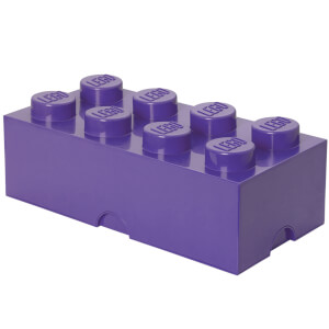 LEGO Storage Brick 8 - Purple