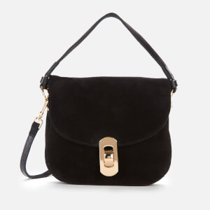 Coccinelle Women's Mignon Suede Bag - Black