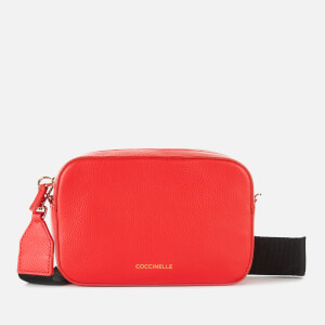 Coccinelle Women's Tebe Cross Body Bag - Polish Red