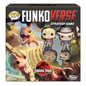 Funkoverse Jurassic Park Strategy Game
