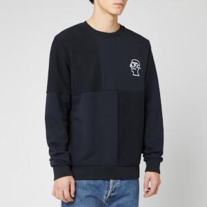 A.P.C. X Brain Dead Men's Pony Sweatshirt - Dark Navy