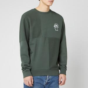 A.P.C. X Brain Dead Men's Pony Sweatshirt - Vert Grise