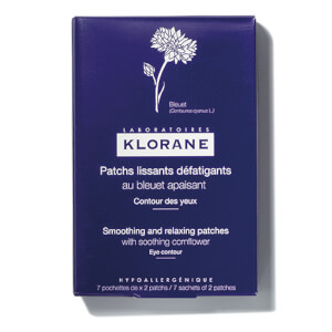 KLORANE Smoothing And Relaxing Patches With Soothing Cornflower (10g x 7)