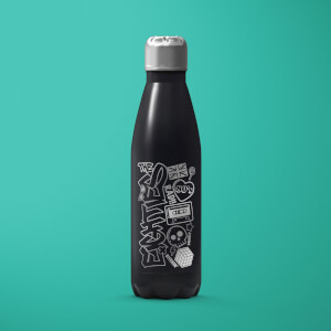 Rad Stainless Steel Water Bottle - Black