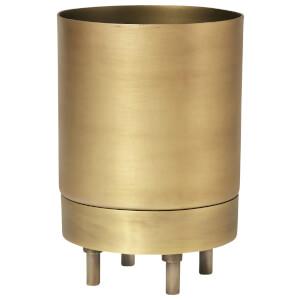 Broste Copenhagen Hadar Brass Flowerpot - Small