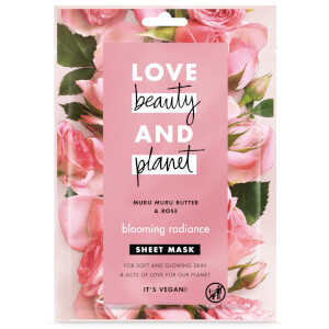 Love Beauty and Planet Blooming Radiance Sheet Mask