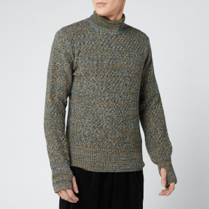 Oliver Spencer Men's Talbot Roll Neck Knitted Jumper - Dark Multi