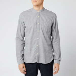 Oliver Spencer Men's Grandad Shirt - Abingdon Grey